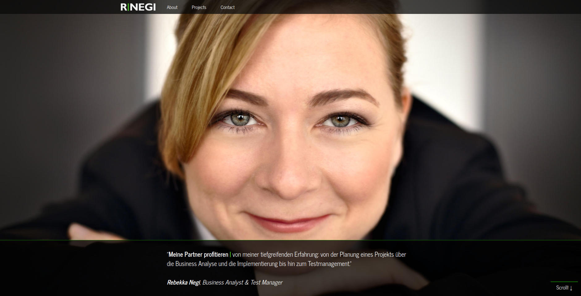 Website Showcase: Rebekka Negi » Web Design · Communication · Storytelling » Brand Artery