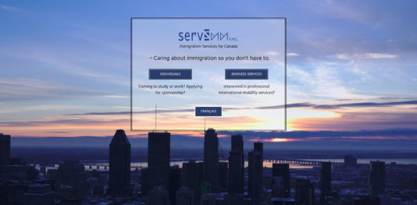 Website Showcase: ServImm » Web Design · Communication · Storytelling » Brand Artery