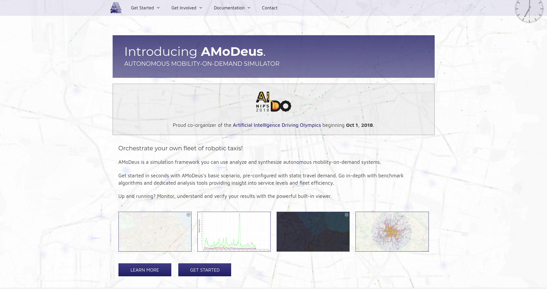 Website Showcase: AMoDeus » Web Design · Communication · Storytelling » Brand Artery