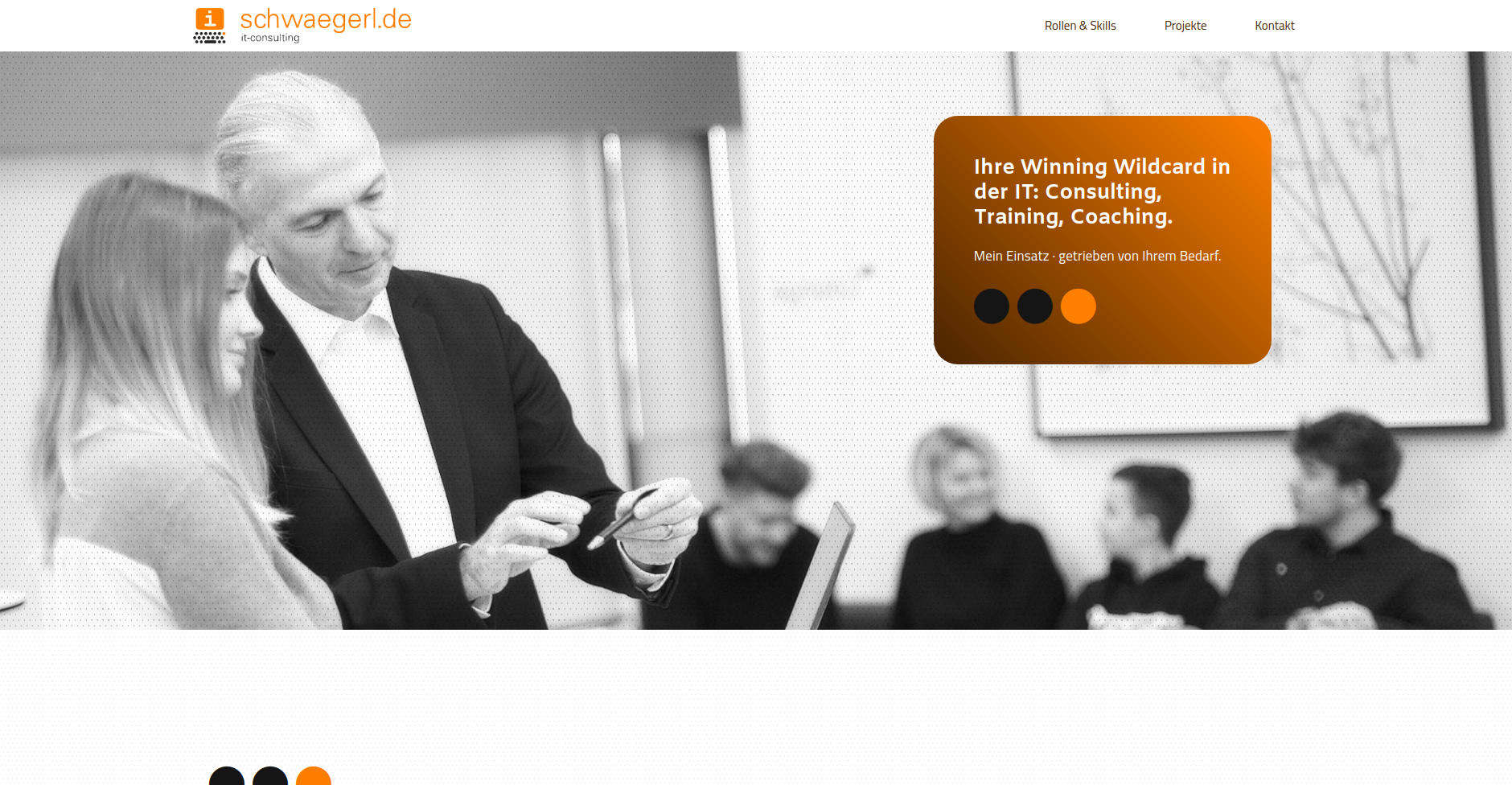Website Showcase: Peter Schwägerl » Web Design · Communication · Storytelling » Brand Artery