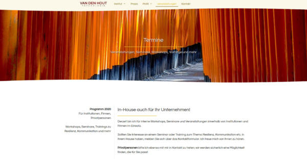 Website Showcase: Cornelia van den Hout » Web Design · Communication · Storytelling » Brand Artery